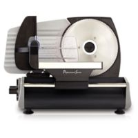 Continental Electrics Deli Meat Slicer in Stainless Steel/Black