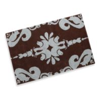 Momeni Lil Mo Damask 2-Foot x 3-Foot Accent Rug in Blue