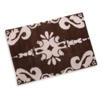 Momeni Lil Mo Pink Damask Accent Rug - 2-Foot x 3-Foot