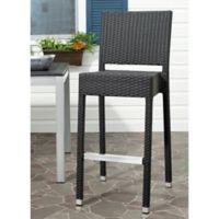 Safavieh Bethel Indoor/Outdoor Barstool in Black