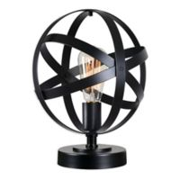 Kenroy Home Global Accent Lamp in Black
