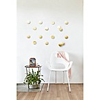 Umbra Confetti Dots Wall Décor Set in Brass