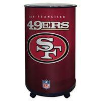 NFL San Francisco 49ers 18 qt. Ice Barrel Cooler