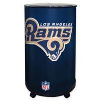 NFL Los Angeles Rams 18 qt. Ice Barrel Cooler
