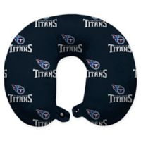 NFL Tennessee Titans Polyester U-Shaped Neck Travel Pillow