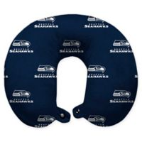 NFL Seattle Seahawks Polyester U-Shaped Neck Travel Pillow