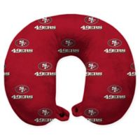 NFL San Francisco 49ers Polyester U-Shaped Neck Travel Pillow