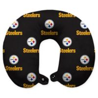 NFL Pittsburgh Steelers Polyester U-Shaped Neck Travel Pillow