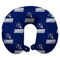 NFL New York Giants Polyester U-Shaped Neck Travel Pillow