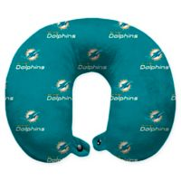 NFL Miami Dolphins Polyester U-Shaped Neck Travel Pillow