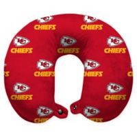 NFL Kansas City Chiefs Polyester U-Shaped Neck Travel Pillow