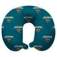 NFL Jacksonville Jaguars Polyester U-Shaped Neck Travel Pillow