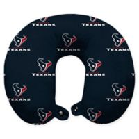 NFL Houston Texans Polyester U-Shaped Neck Travel Pillow
