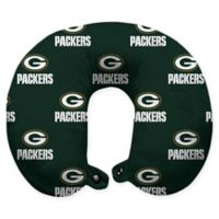 NFL Green Bay Packers Polyester U-Shaped Neck Travel Pillow