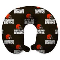 NFL Cleveland Browns Polyester U-Shaped Neck Travel Pillow
