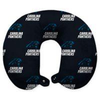 NFL Carolina Panthers Polyester U-Shaped Neck Travel Pillow