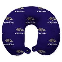 NFL Baltimore Ravens Polyester U-Shaped Neck Travel Pillow