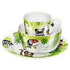 Zwilling J.A. Henckels TWIN Kids Jungle 3-Piece Dinnerware Set