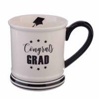 Formations 16 oz. Graduation Mug in White/Black