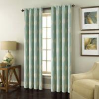 Scranton 95-Inch Rod Pocket Window Curtain Panel in Blue