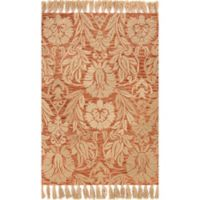 Magnolia Home by Joanna Gaines Jozie Day 3-Foot 6-Inch x 5-Foot 6-Inch Area Rug in Persimmon