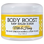 basq 8 oz. Body Boost Raw Sugar Scrub in Milk and Honey