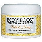 basq 8 oz. Body Boost Stretch Mark Butter in Milk and Honey