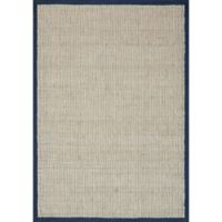 Magnolia Home by Joanna Gaines Sydney 2-Foot 3-Inch x 3-Foot 9-Inch Accent Rug in Navy