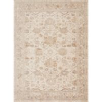 Magnolia Home by Joanna Gaines Trinity 2-Foot 7-Inch x 4-Foot Accent Rug in Antique Ivory
