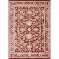 Magnolia Home by Joanna Gaines Trinity 2-Foot 8-Inch x 10-Foot 6-Inch Runner in Crimson