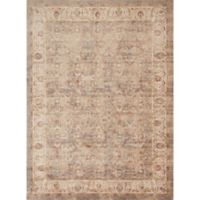Magnolia Home by Joanna Gaines Trinity Vines 7-Foot 10-Inch x10-Foot 10-Inch Area Rug in Sand/Ivory
