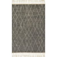 Magnolia Home by Joanna Gaines Tulum 7-Foot 9-Inch x 9-Foot 9-Inch Area Rug in Grey/Ivory