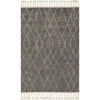 Magnolia Home by Joanna Gaines Tulum 9-Foot 6-Inch x 13-Foot 6-Inch Area Rug in Grey/Ivory