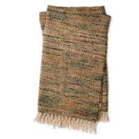 Magnolia Home by Joanna Gaines Bree Throw Blanket in Khaki/Camel