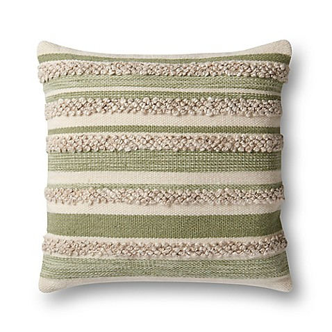 Magnolia Home By Joanna Gaines Zander Square Throw Pillow