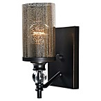 Kenroy Home Chloe 1-Light Wall Sconce in Oil Rubbed Bronze