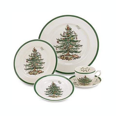 Spode Christmas Tree 5 Piece Place Setting Bed Bath Beyond