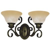 Maxim Lighting Pacific 2-Light Bath Vanity in Bronze