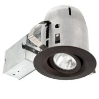4-Inch Die-Cast Recessed Light Kit with LED Light