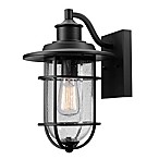 Globe Electric Company Turner Outdoor Wall Sconce in Black