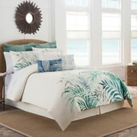Coastal Life Havana California King Comforter Set in Ivory