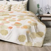 Deny Designs Chelsea Victoria Party Girl Twin/Twin XL Comforter Set in Gold
