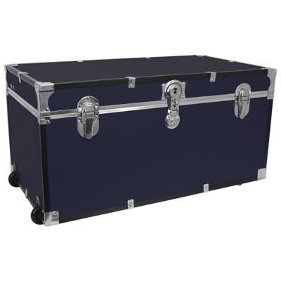 Mercury Luggage 31 Inch Oversized Storage Trunk In Navy