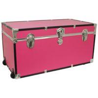 Mercury Luggage 31-Inch Oversized Storage Trunk in Pink