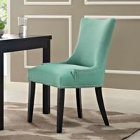Modway Marquis Upholstered Dining Side Chair in Laguna