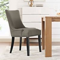 Modway Marquis Upholstered Dining Side Chair in Granite