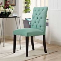 Modway Duchess Upholstered Dining Side Chair in Laguna