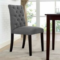 Modway Duchess Upholstered Dining Side Chair in Grey