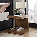 Modway Gallivant Nightstand in Walnut
