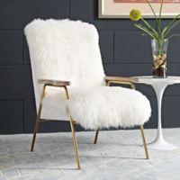 Modway Sprint Armchair in Brown/White